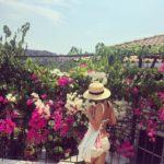 Flowers in Lefkada