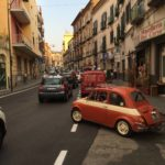Fiat 500 old car in Meta