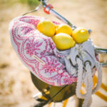 Lemons and summer bag